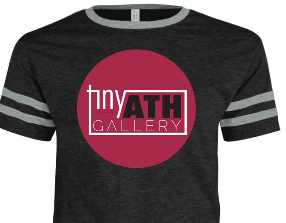 tiny ATH gallery t-shirt