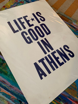 Life Is Good in Athens