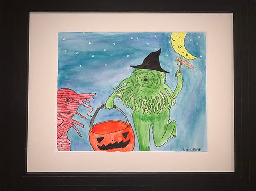 Kevin Lawrence Kardon: Witch-topus's First Halloween