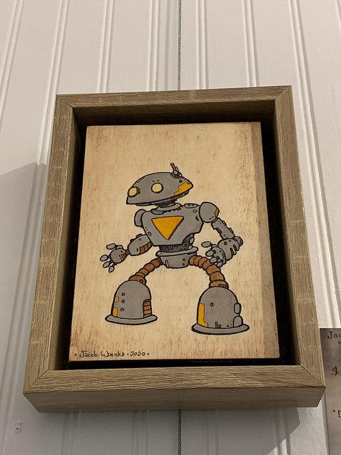 "Dome Head Bot (4.5""x6.5"")"
