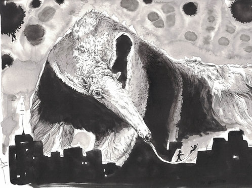 Valley StipeMaas: Giant Anteater Consuming a City
