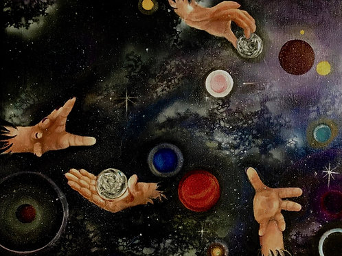 Jennifer Wallens Terry:Galaxy Vision-The Helping Hands