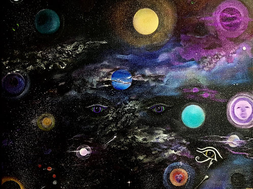 Jennifer Wallens Terry: Galaxy Vision-The Reality of Perception