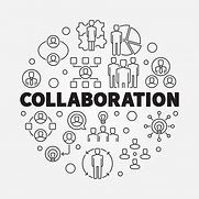 business-collaboration-round-thin-line-i