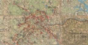Карта положения 16-й армии на 03декабря 1941 г.