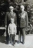 Сайганов В.Н. с внуком и Щукин В.Я