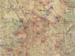 Карта ЗФ положения16-й армии на 03декабря 1941 г.