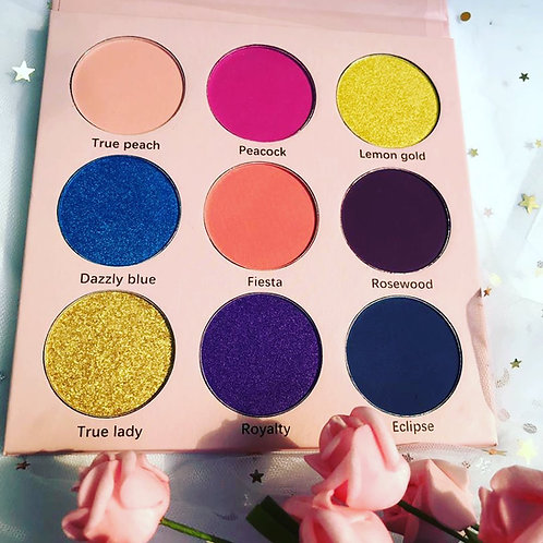 sample order 9 colors pro palette