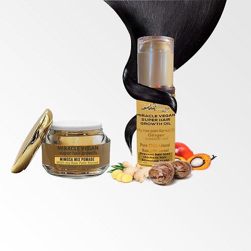 mimosa mix & super hair growth oil