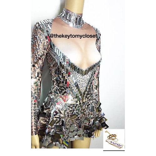 Mirror stone dress