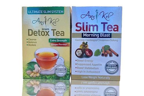 Slim Tea & Ginger 30 Days Detox Tea