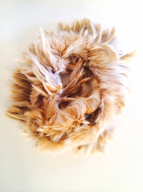 Real Rabbit Fur Neck Scarf
