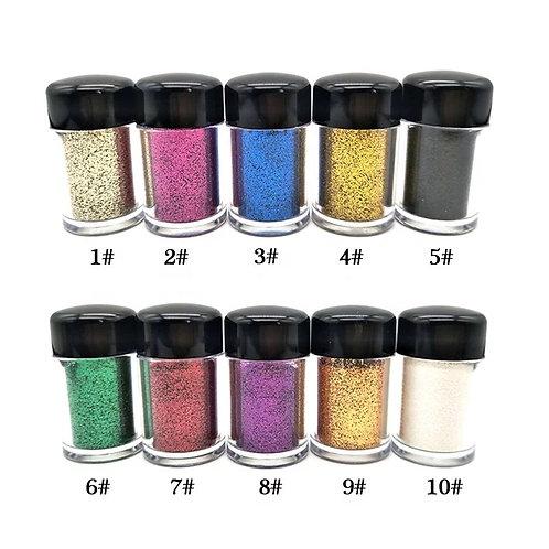 glitter powder set