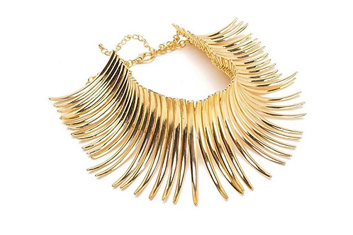 gold spike chocker