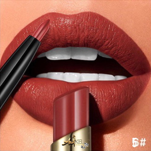 2 in 1 luxury Matte lipstick and liner