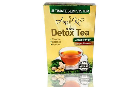 Ginger Detox Tea cleanse