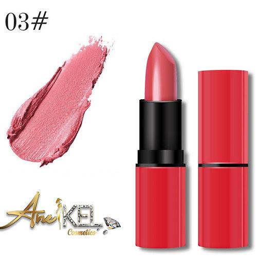 Matte cream long wear lipstick