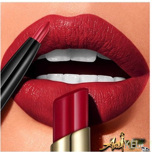 2 in 1 luxury Matte lipstick and liner #1