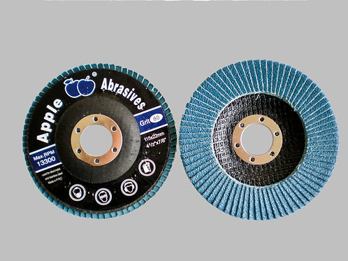 Apple Abrasives Blue Flap disc Zirconia Raw material for Stainless steel