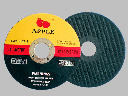 Apple Yellow Cutting disc 4.5 inch 1mm thickness
