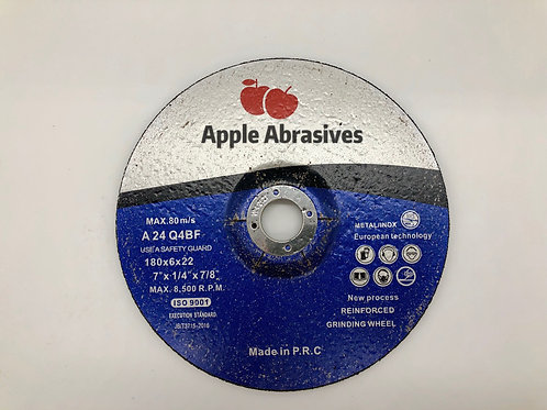 7 inch apple abrasives 6mm grinding disc