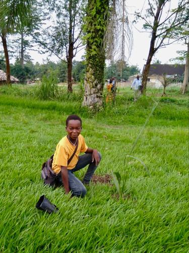 Dieumerci Kisubi, août 2019