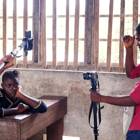 Nadia / tournage
