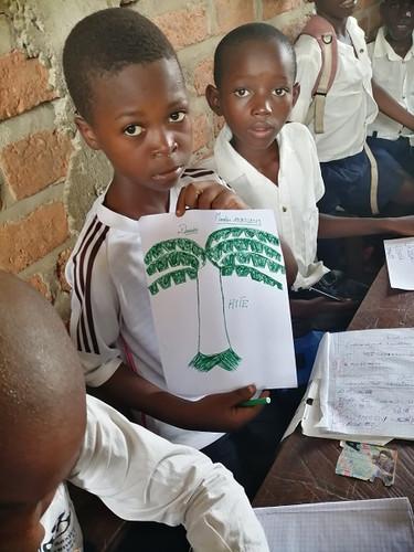 visite écoles de Lubunga, mars 2019