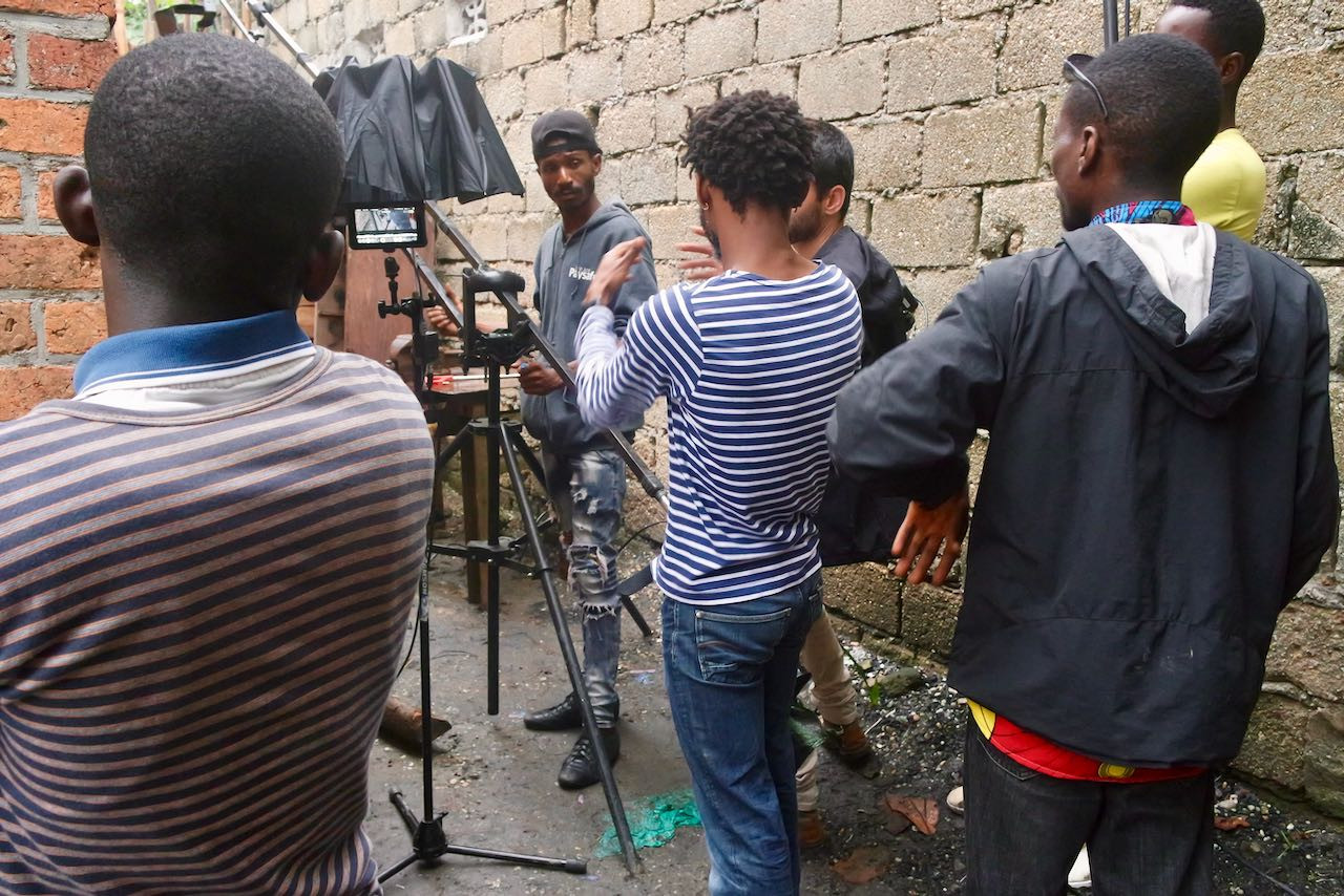 Lubunga Files, tournage, août 2019