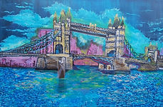 London Bridge_24 x 36(inches)_Munazzah F