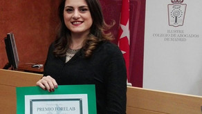 Sonia Morán, galardonada con el Premio Jóvenes Laboralistas FORELAB
