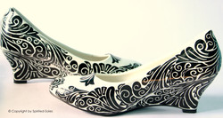 Custom Hand-Painted Shoes