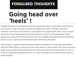 Fossilised thoughts