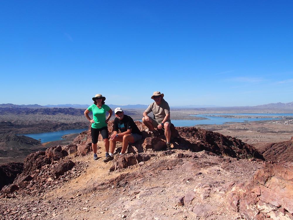 Hiking Lake Havasu City Arizona