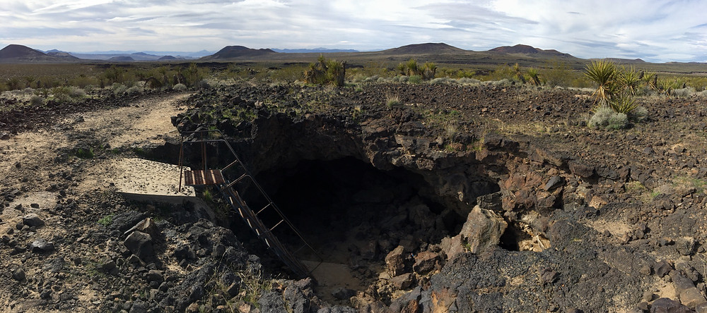 Ladder to Lava Tube