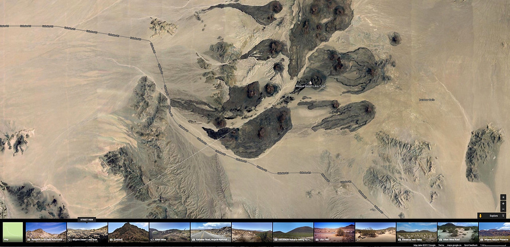 Mojave Google Earth