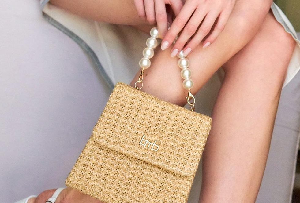 Perlita Straw Bag