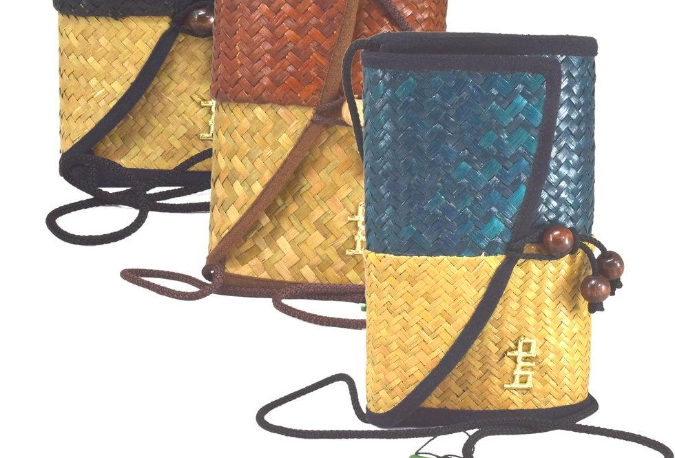 Bamboo  Balance Clutch Bag