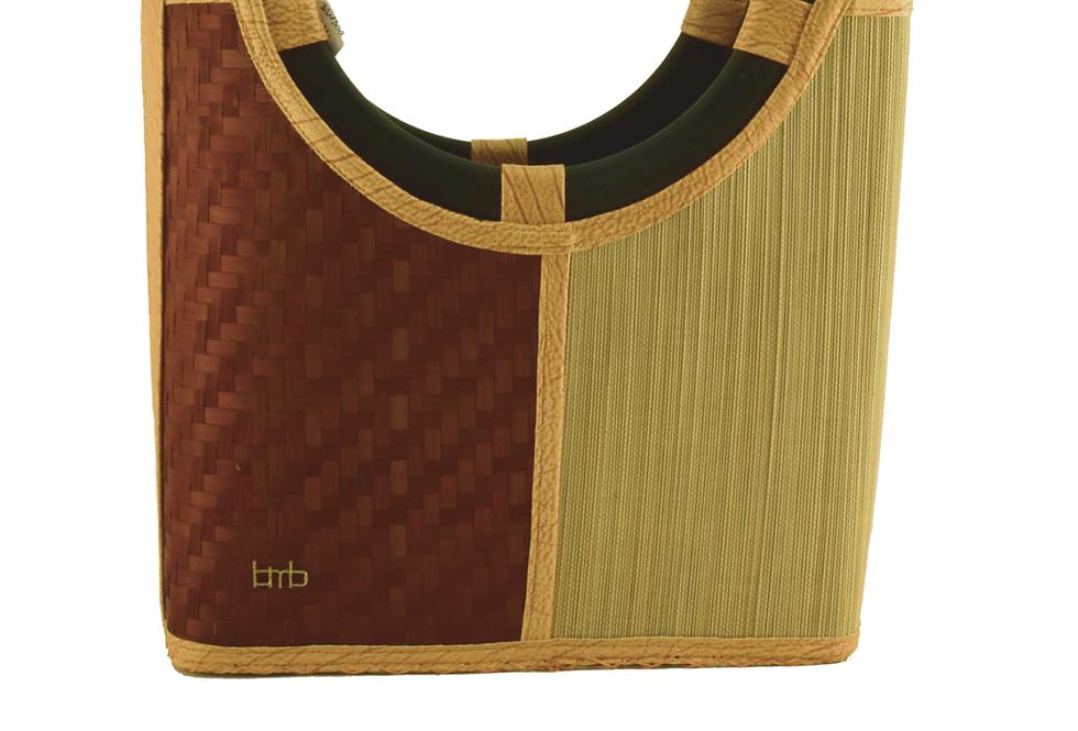 Bamboo Bali Tote Bag