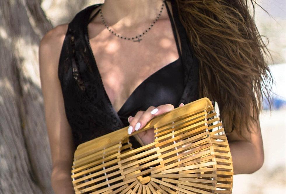 Halfmoon Bamboo Bag