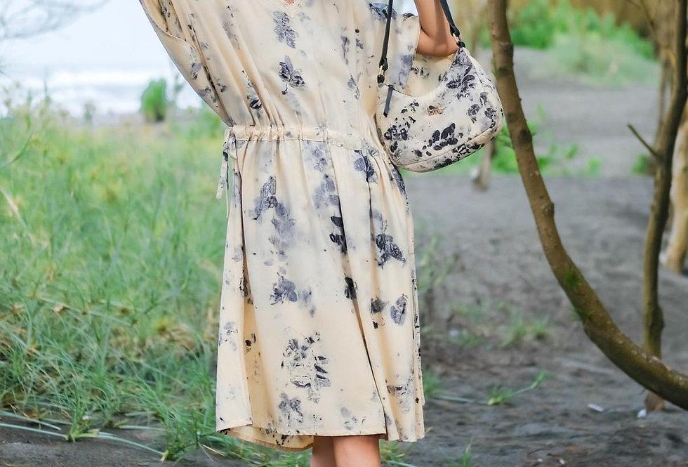 Margaret Eco Print Dress