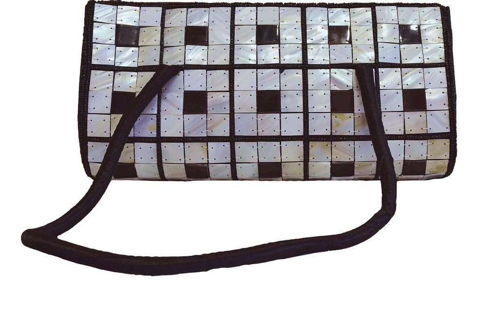 Black and White Pearl Bag
