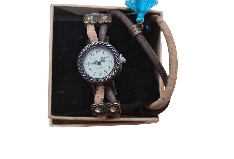 Cork Bracelet Watch