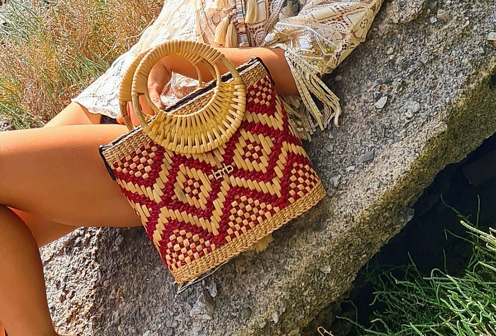 Sandy Bamboo Bag