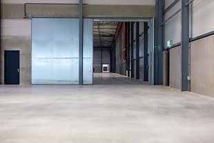 Warehouse Stainless Steel Sliding Door.P