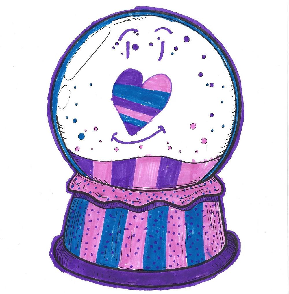 Zamaya's Snow Globe