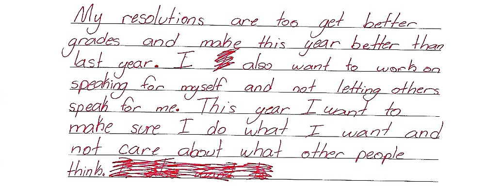Gracie's Resolutions
