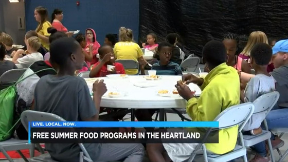 Summer Food Program at Boys & Girls Clubs of Southeast Missouri Summer Camp