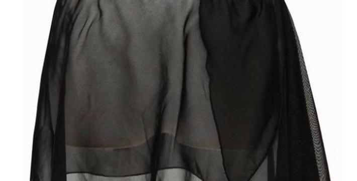 Mock Wrap Ballet Skirt