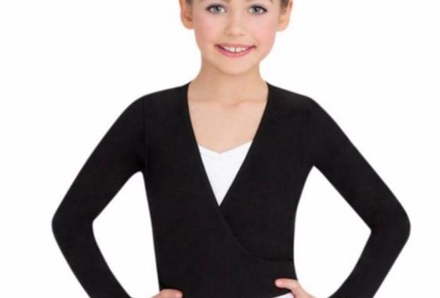Child- Basic Wrap Sweater
